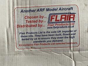 Unstarted Flair ARF radio controlled model aeroplane kit