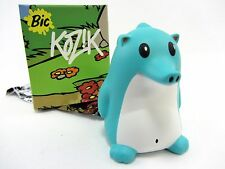 "Turquoise w/white belly - Heathrow The Hedgehog by Kozik - 3"" vinyl figure"