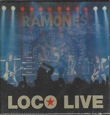 THE RAMONES - LOCO LIVE - DOUBLE CD BOX SET - (still sealed) - AHOY DCD 314