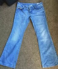 Diesel Mid Rise Jeans Bootcut Faded for Women