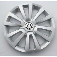"VW Beetle 5C Radzierkappe Original 16"" Radkappe Radzierblende Brilliantsilber"