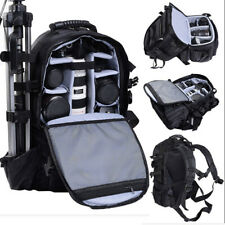 Multi-Format  Large Digital Camera Bag Weather Resistant Backpack DSLR SLR Case