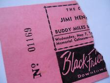 Jimi Hendrix_1969_Original_Con cert Ticket Stub_Univ of Alabama_Ex(-)