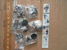 Takara Tomy SR K-On part 1 girl mini figure gashapon 6 pcs Yui Mio Ritsu Tsumugi