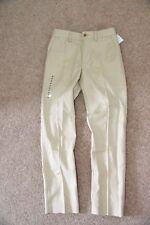 Nuevo Polo Ralph Lauren Chicos Pantalón Chino Pantalones Skinny Fit Color Beige Arena Lino 8 años