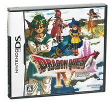 Used Nintendo DS Dragon Quest IV Michibikareshi Monotachi Japan Import