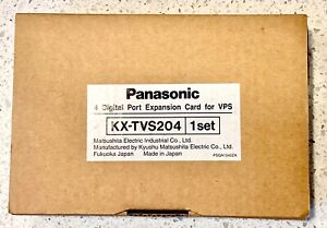 Panasonic KX-TVS204  4 port expansion card NEW