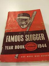 "BASEBALL ""FAMOUS SLUGGER YEAR BOOK "" 1944"