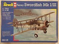 Revell 04115 Fairey Swordfish Mk I/III 1:72 Neu und versiegelt