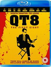 QT8 - The First Eight [Blu-ray] Quentin Tarantino Documentary Gift Idea NEW