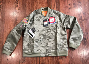 Nike NY Giants Salute to Service 2019 Jacket NWT$110 Womens Large AT7880-222