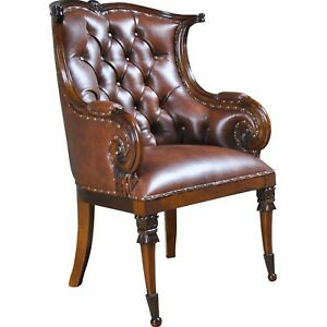 NDRAC059L, Niagara Furniture, Leather Arm Chair