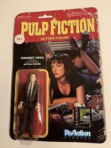"""VINCENT VEGA Pulp Fiction ReAction 3.75"""" Action Figure COMIC CON EXCLUSIVE"""