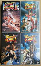 COLECCIÓN DE PELÍCULAS DE STREET FIGHTER II EN VHS
