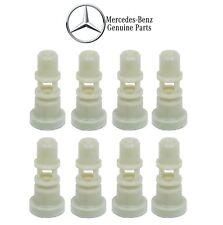 For Mercedes R126 300TE 190E 300TE 300SEL Set of 8 Fuel Injector Holders Genuine