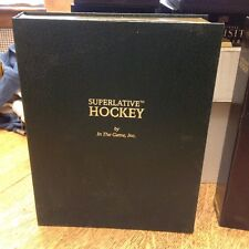 2009 In The Game Superlative Hockey 2nd 3rd Vol.  Empty Boxes