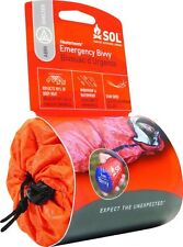 SOL Survive Outdoors Longer Emergency Bivvy Orange Survival Shelter 0140-1138