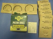 NOS full piston ring set Ford 8 1932-1945 aluminum piston .040