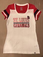 Women's St. Louis Cardinals Majestic Overwhelming Victory T-Shirt, Medium