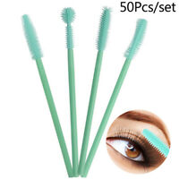 50Pcs Disposable Gel Eyelash Brush Comb Mascara Wands Eye Lashes Extension Tool
