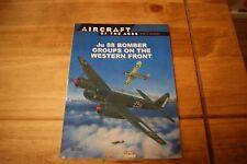 Libros de avión bombardero Ju 88 grupos en el frente occidental.