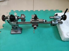 1 Set Longer Watchmakers Lathe with 50mm 3-Jaw Manual Centering Chuck