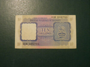 Great Britain banknote 10 Shilling 1943 !!!!!!!