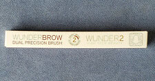WUNDERBROW Dual Precision Brush Wunder2 High Tech Beauty New Sealed