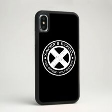 X-Men Marvel Xavier's School Silicone Case Cover for iPhone Samsung Galaxy