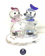 "[NEW] ""Mr & Mrs Duck"" Austrian Crystal Figurine"