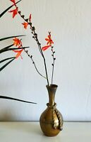 Vintage Beautiful Vase  - Made in India - Solid Brass