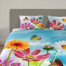 Bettwaschegarnituren Fur 40 Wasche Aus 100 Baumwolle Mit Blumen