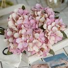 6 Heads Artificial Fake Hydrangea Flower Diy Wedding Home Decor Bridal Bouquet