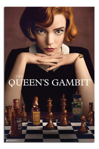 """LAMINATED The Queens Gambit Poster Official Licensed 24x36"""" 