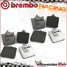 8 PLAQUETTES FREIN AVANT BREMBO RACING MOTO GUZZI MGS-01 CORSA 1200 2011 2012