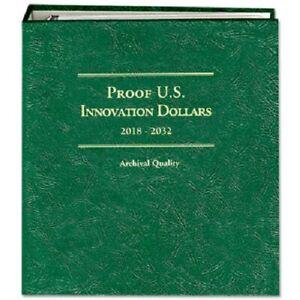 Littleton Coin Album 2018-2032 PROOF US Innovation Dollars LCA83 Quality Storage