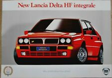Lancia Delta HF Integrale Original Large Poster Manifesto 1992 98 x 69 cm
