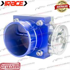 70MM THROTTLE BODY IRACE BLUE UNIVERSAL Anodised Aluminium 1 Year Warranty