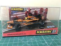 SLOT SCALEXTRIC ORANGE ARROWS F1 TEAM 2000 SHOWCAR falta 1 retrovisor ver foto
