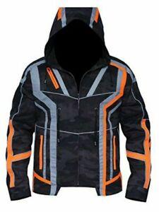 Infinity War Camouflage Tony Stark Hooded Jacket
