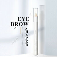 Eyebrow Styling Pencil Waterproof Natural Transparent Wax Pen with Sharpener Kit