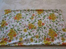 Vintage Std Pillowcase Bedding Cottage Shabby French Country Garden retro chic