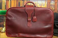 "BOTTEGA VENETA 25"" Collectible Cordovan Leather Luggage Travel Suitcase Bag Mens"