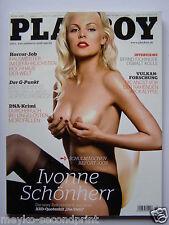 Playboy - D 10/2008, Ivonne Schönherr, Kayla Cole, Arina Mahova, Oswald Kolle