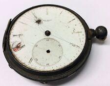 LOUIS JACOT LOCLE Victorian POCKET WATCH #9876 Key Wind/Set PARTS/REPAIR Antique