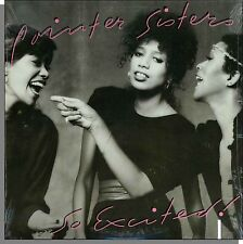 The Pointer Sisters - So Excited! - New 1982 LP Record! I Feel For You!