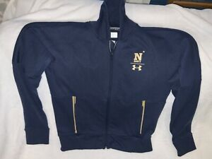 Under Armour Naval Academy USNA Navy Midshipmen Loose Cold a Gear Jacket A Med