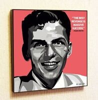 Frank Sinatra Painting Decor Print Wall Art Poster Pop Canvas Quotes Decals