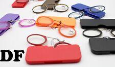occhiali da lettura uomo donna da naso senza montatura + 1 1,5 2 2,5 3 riposo pc