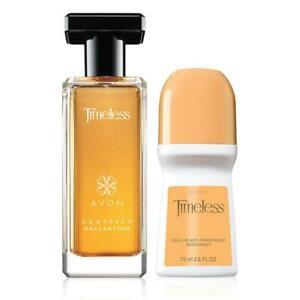 Avon Timeless Fragrance 2 Pcs Set (Spray Perfume and Deod)